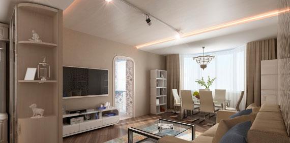 Ремонт трехкомнатной квартиры в Рязани (Московский)